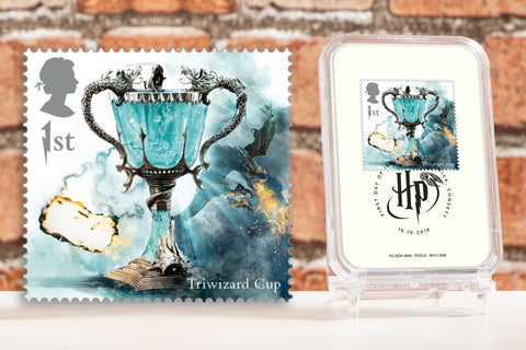 The First Day of Issue Capsule Edition - Triwizard Cup Stamp - Collectology