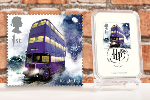 The First Day of Issue Capsule Edition - Knight Bus Stamp - Collectology