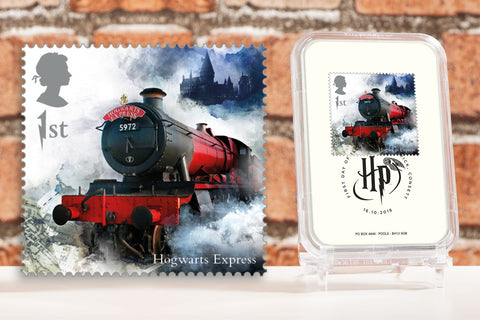 The First Day of Issue Capsule Edition - Hogwarts Express Stamp - Collectology
