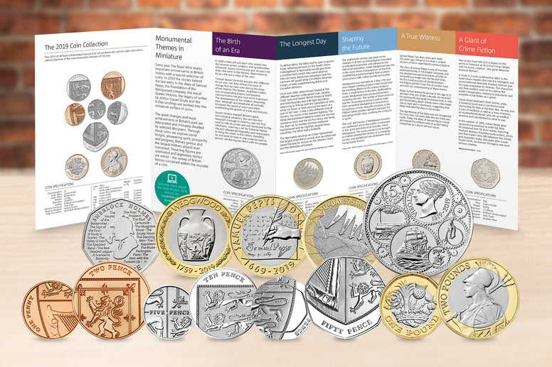 The 2019 UK Annual Coin Set - Collectology