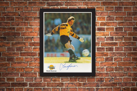 The David Seaman Signed Framed Photograph - Collectology
