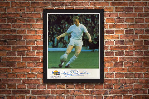 The Jack Charlton Framed Signed Photograph - Collectology