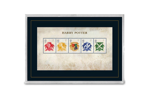 The Capsule Edition featuring the Harry Potter Hogwarts Stamps - Collectology