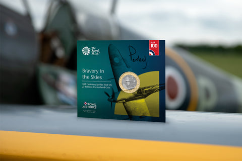 The UK Spitfire £2 Signed by a Spitfire Pilot - Collectology