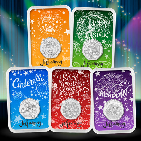 The Signed Panto 50p Capsule Edition Set
