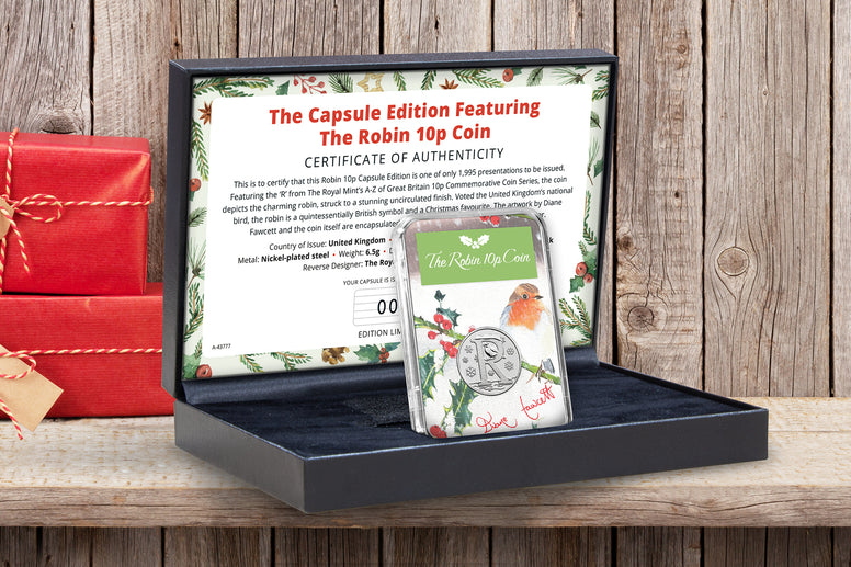 The Capsule Edition featuring the Robin 10p Coin - Collectology