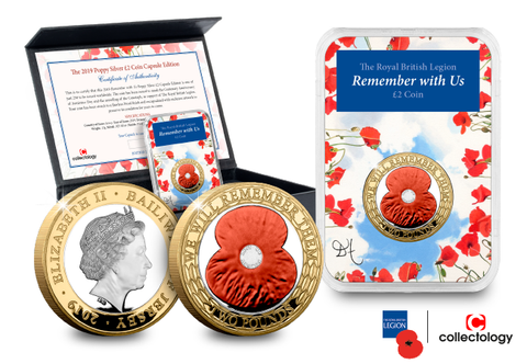 The 2019 Poppy Silver £2 Capsule Edition - Collectology
