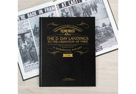 The D-Day Landings Newspaper Book - Collectology
