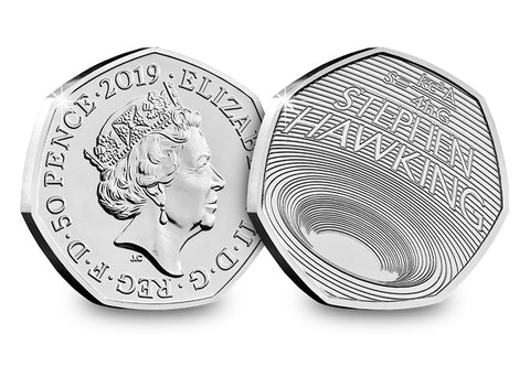 The UK 2019 Stephen Hawking 50p BU Pack - Collectology