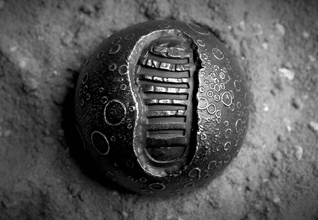 1oz Silver Spherical Moon Coin - Collectology