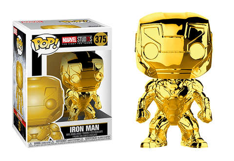 Iron Man Chrome Pop! Vinyl Figure - Collectology