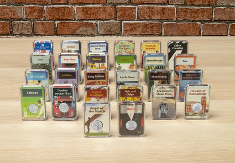 The Complete A-Z 10p Capsule Edition Set - Collectology