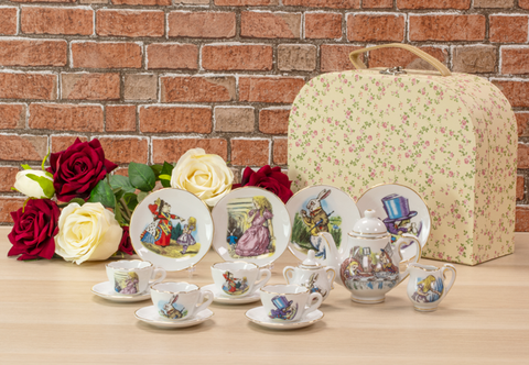 The Alice in Wonderland Porcelain Tea Set - Collectology