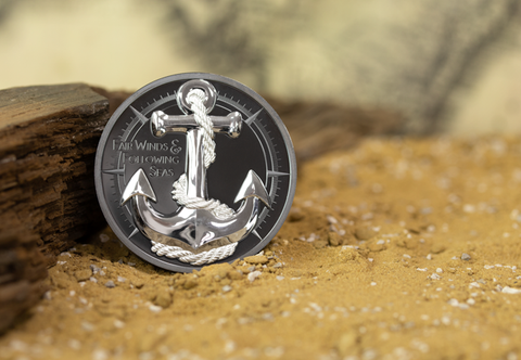 The Black Proof Anchor Coin - Collectology