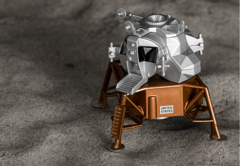 The Corgi Lunar Module Model - Collectology