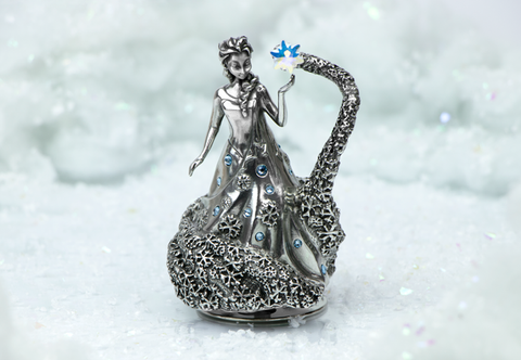 Royal Selangor Elsa Music Carousel with Swarovski crystal - Collectology