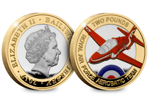 The Red Arrows Silver Proof £2 Coin