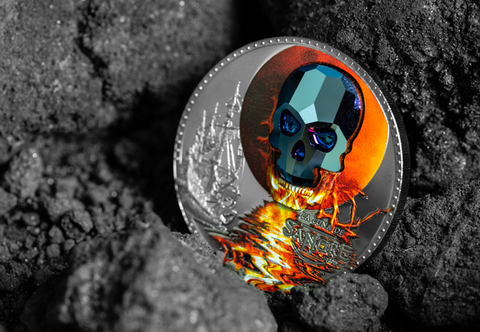 The Swarovski Crystal Skull Coin - Collectology