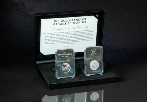 The Moon Landing Capsule Edition Set - Collectology