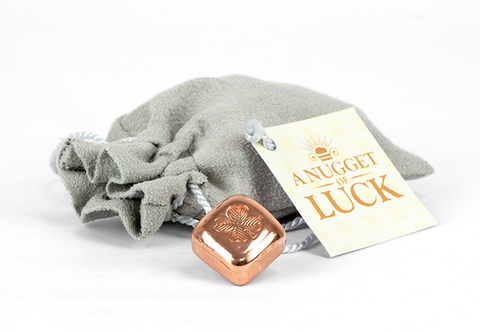 The 1oz Copper Nugget of Luck - Collectology