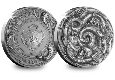 The 3oz Pandora's Box Silver Coin - Collectology