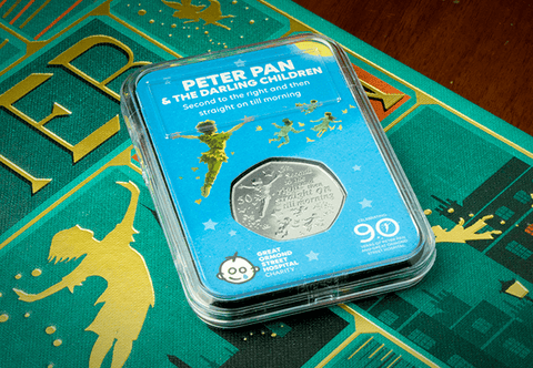The Peter Pan 50p Capsule Edition - Collectology