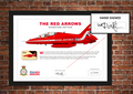 The Red Arrows Hand-Signed Framed Edition