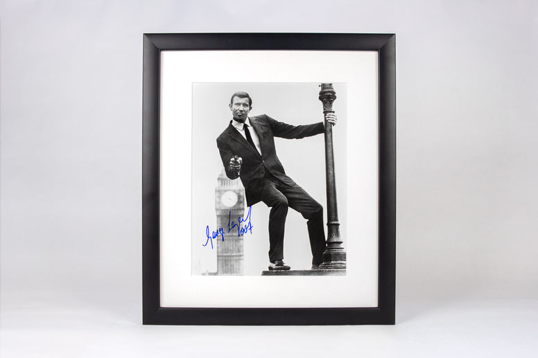 The George Lazenby Signed Framed Photograph - Collectology