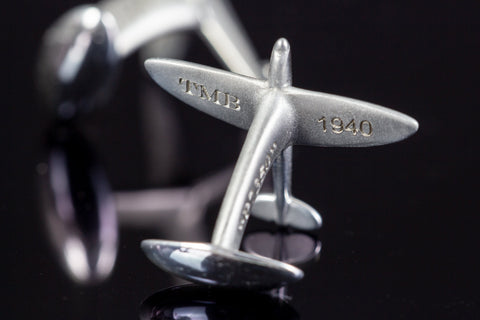 Supermarine Spitfire Cufflinks - Collectology