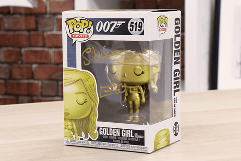 The James Bond Golden Girl Signed Pop! Vinyl Figure - Collectology