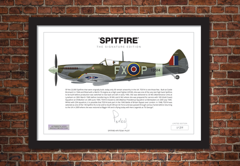 The Spitfire Signature Framed Edition - Collectology