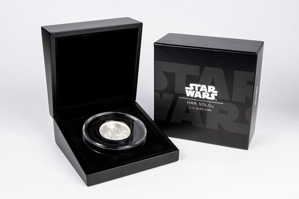 The Star Wars Han Solo Ultra High Relief 2oz Silver Coin Collectology