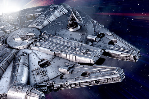 The Royal Selangor STAR WARS Millennium Falcon Replica - Collectology