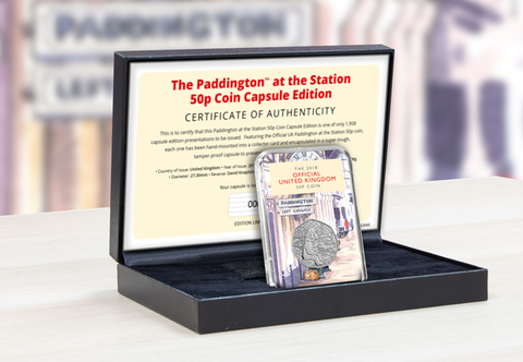 The Capsule Edition featuring the Paddington at the Station 50p - Collectology