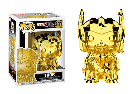 Thor Chrome Pop! Vinyl Figure - Collectology