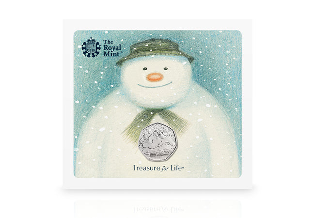 The UK 2018 Snowman 50p Coin - Collectology