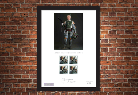 The Jeremy Bulloch Framed Signature Edition - Collectology