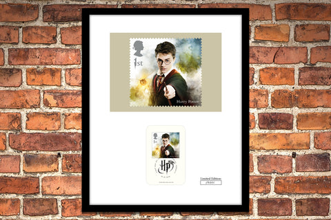The Framed Edition featuring the Harry Potter Stamp - Collectology