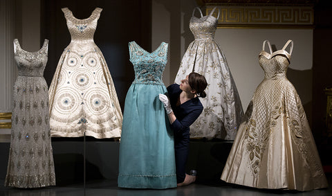 The Queen's dresses