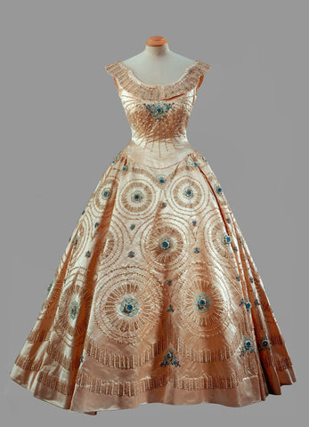 Norman Hartnell dress for Queen Elizabeth II