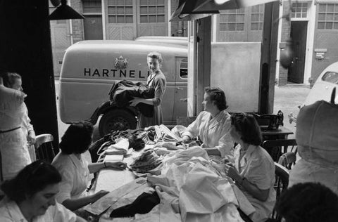 Hartnell embroidery room