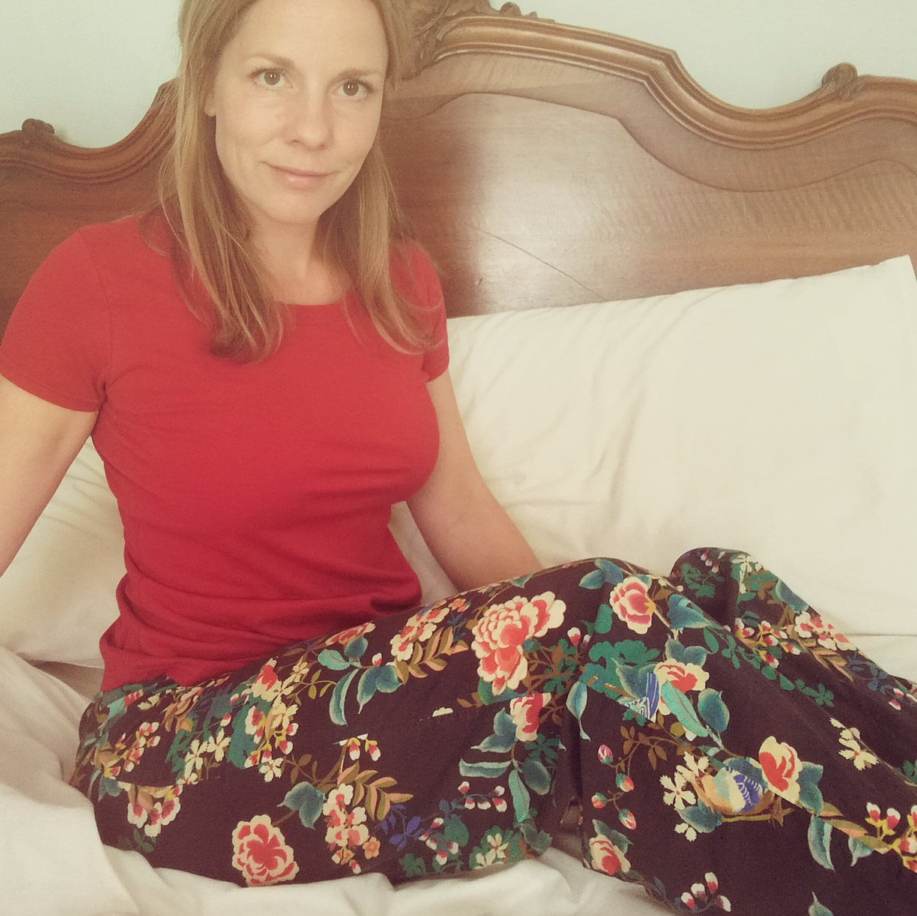 Red/black cotton pyjamas