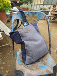 Large Two-Tone Tote Bag
