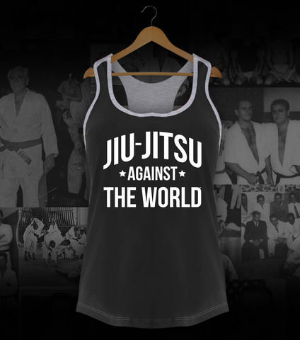 Jiu-Jitsu Against the World • Racerback - Strych9