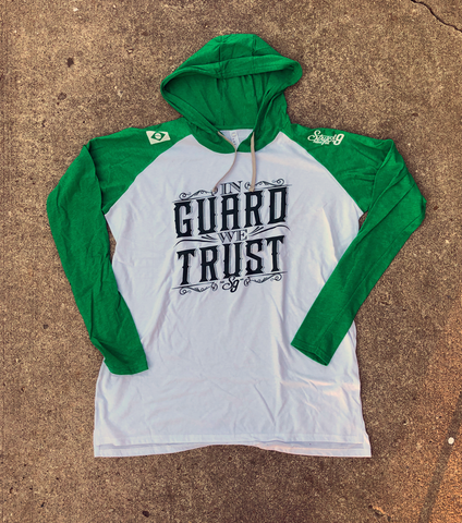IN GUARD WE TRUST • Hooded T-Shirt