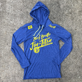 LIVE AND BREATH JIU-JITSU • Hooded T-Shirt