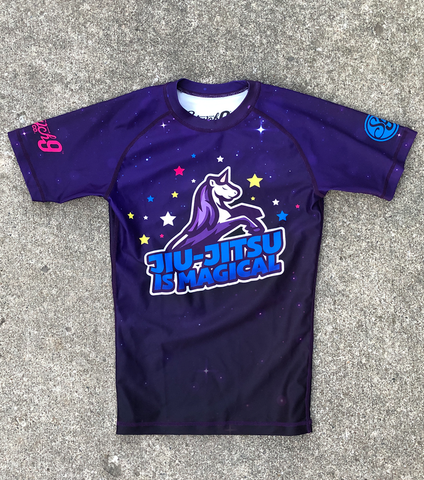 Jiu-Jitsu is Magical • Unicorn Rash Guard
