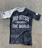 JIU JITSU AGAINST THE WORLD • White Belt Rash Guard