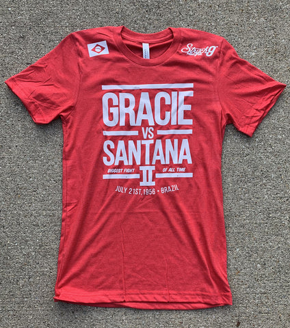 Gracie VS Santana II • T-Shirt