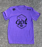 ROLL LIKE A GIRL • T-Shirt